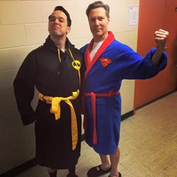Backstage Superheroes