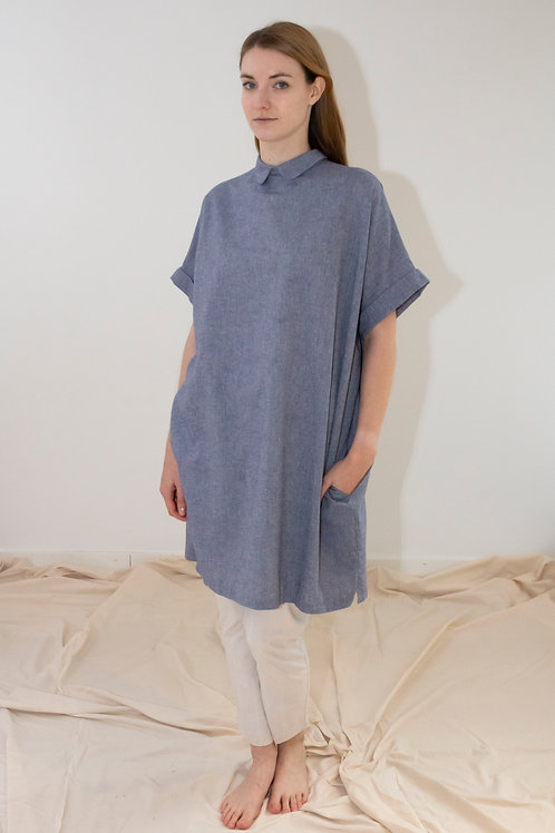 Apron blouse