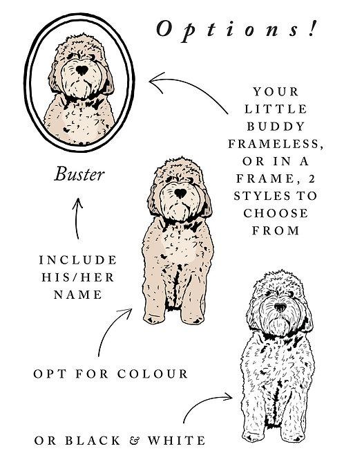 Custom Pet Portraits - Digital Download