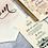 Thumbnail: Bride & Groom Chair Flag Pair | No. 7 Collection