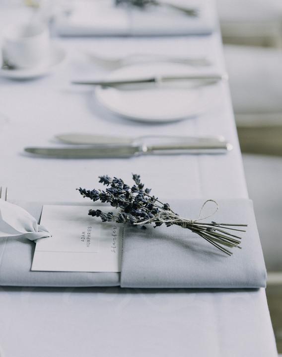 duck egg wedding menu