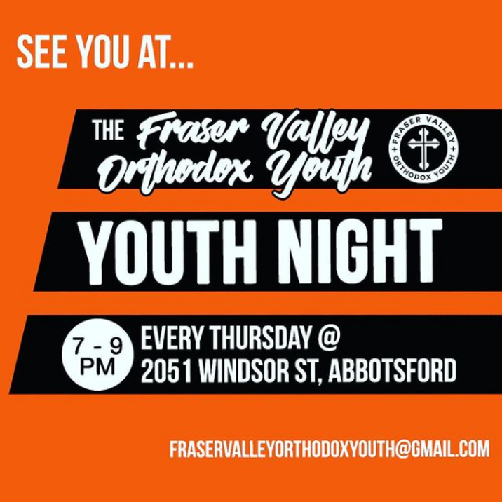 Fraser Valley Orthodox Youth Group