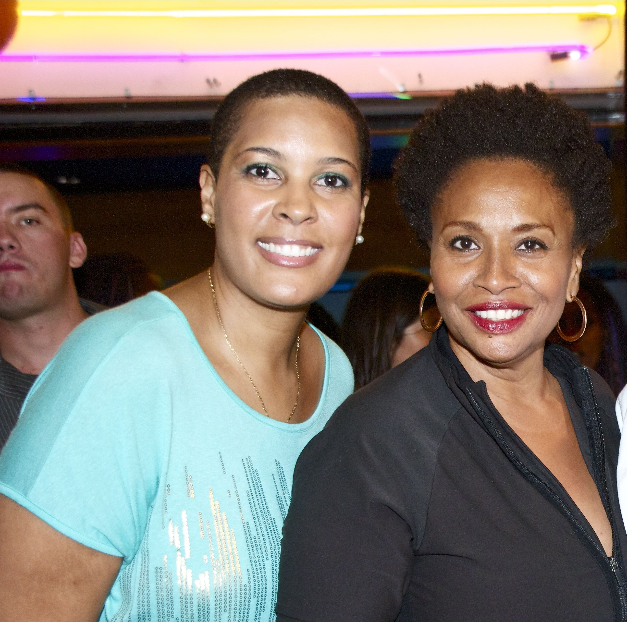 LaTonia Robinson and Jenifer Lewis