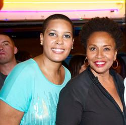 LaTonia Robinson and Jenifer Lewis