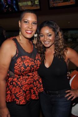 LaTonia Rpbinson and Tamala Jones