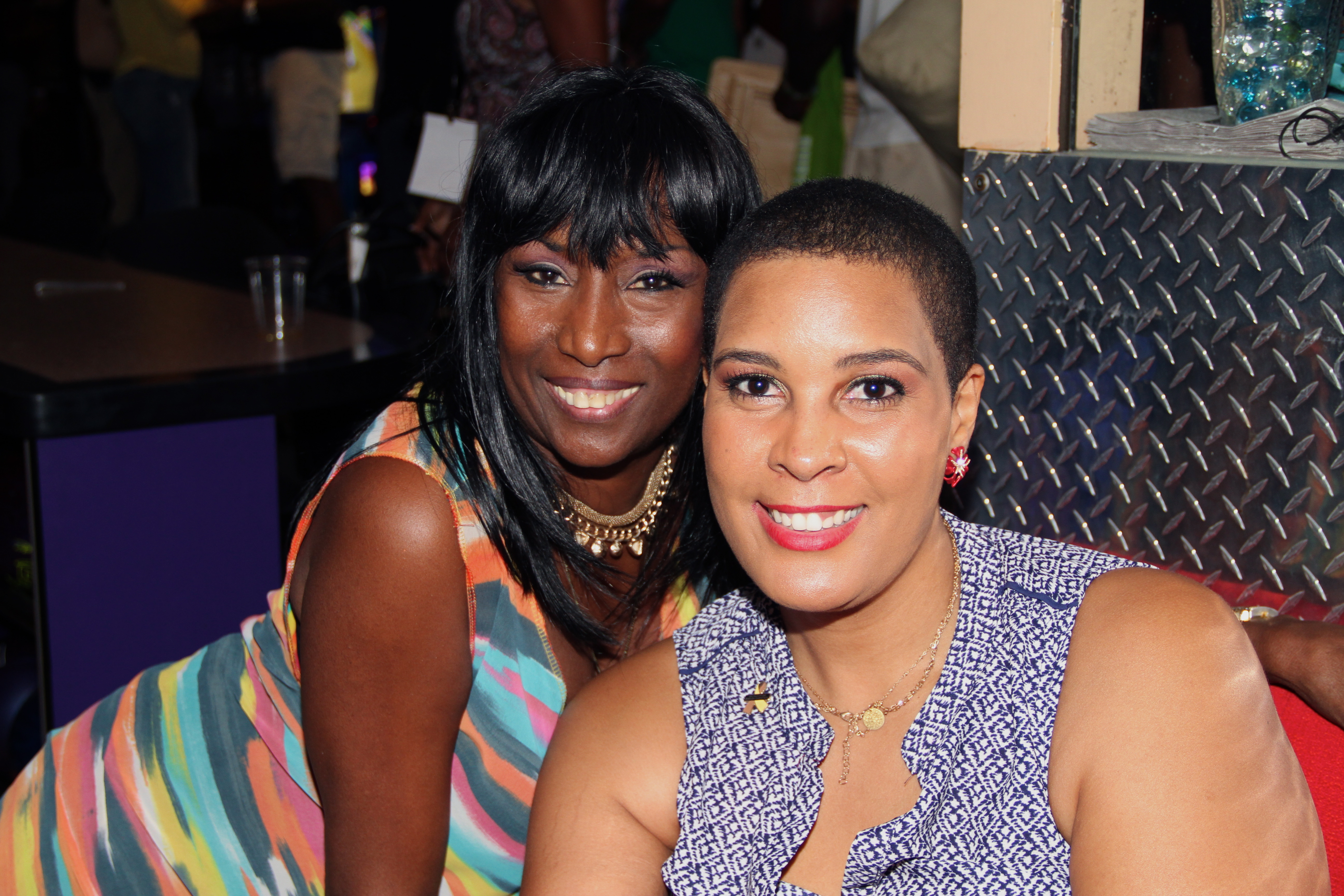 KiKi Shepard and LaTonia Robinson
