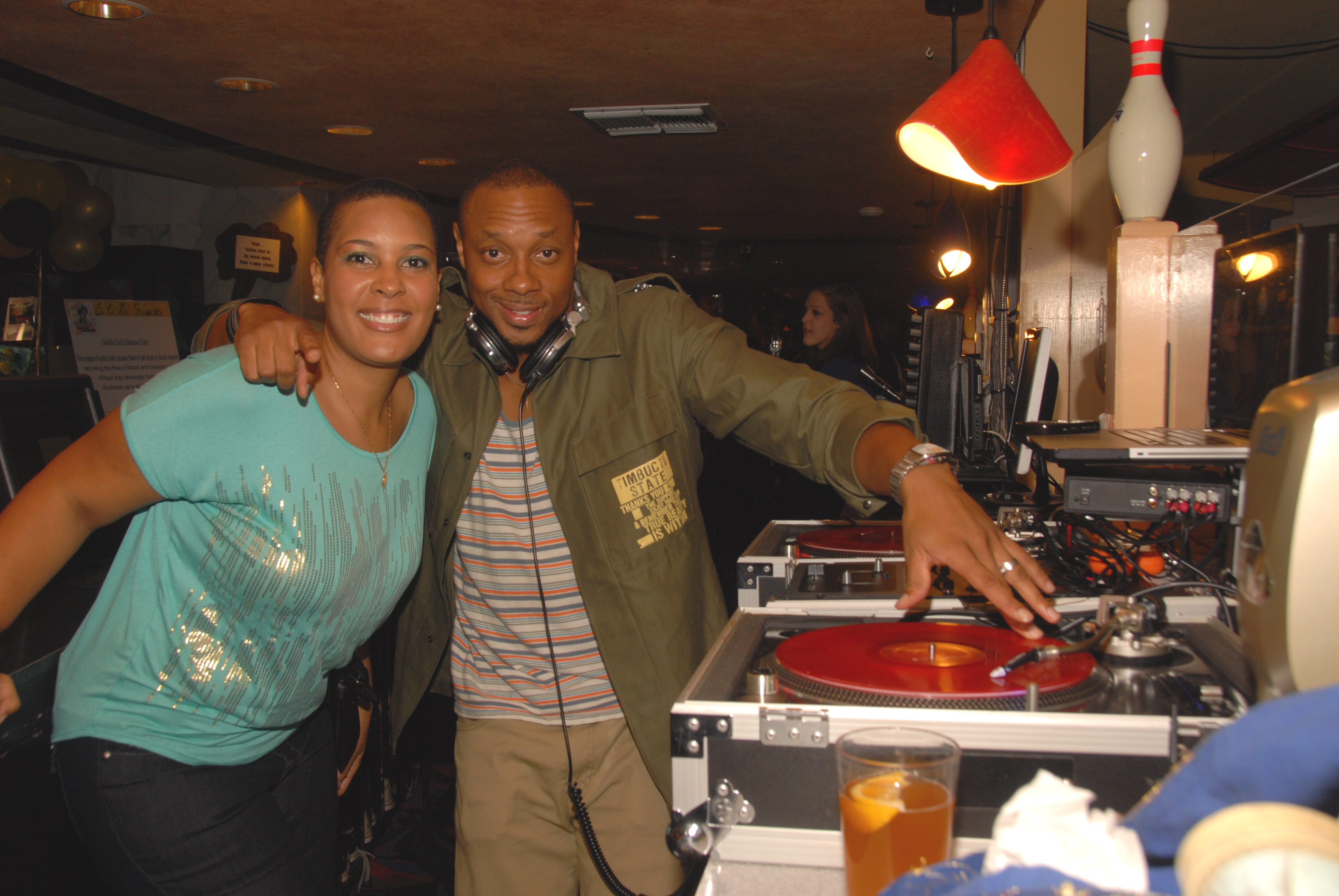 LaTonia Robinson and Dorian Missick