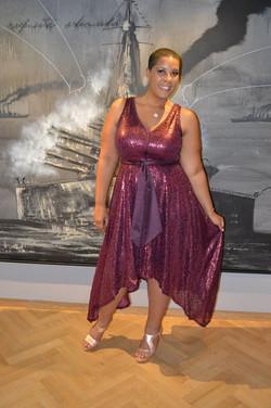Isabel Toledo Sequin Dress