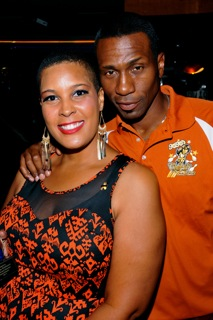 LaTonia Robinson and Leon Robinson