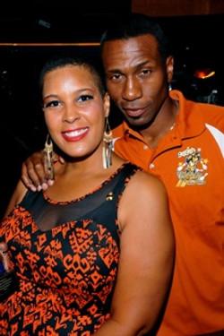 LaTonia Robinson and Leon Robinson