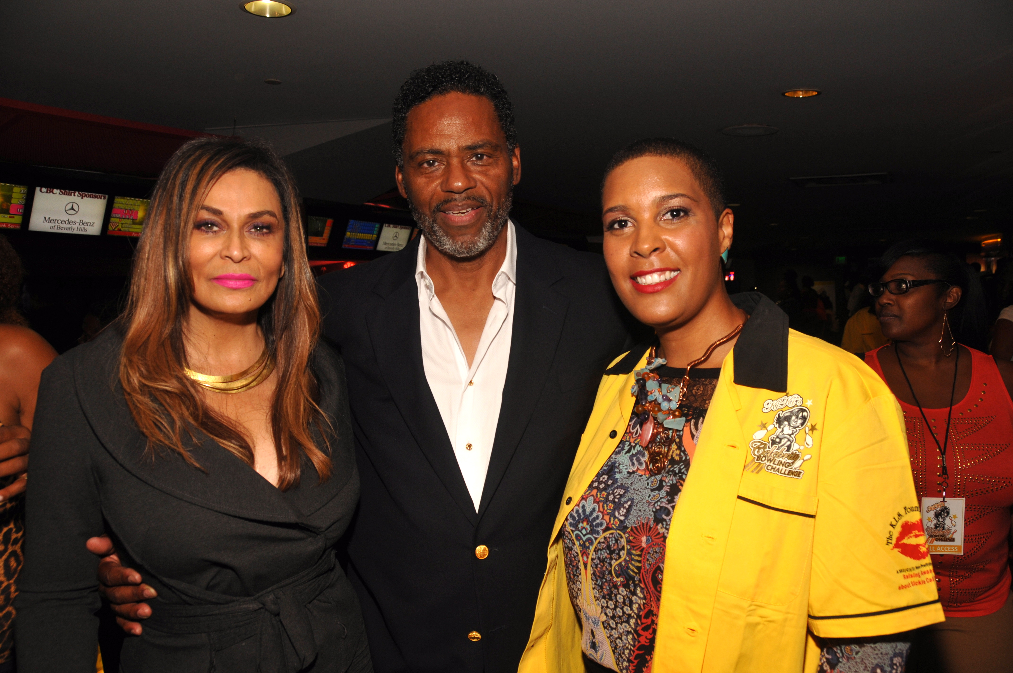 Tina Knowles Richard Lawson LaTonia