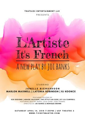 LArtiste. It's French