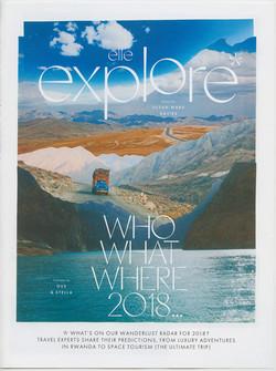 ELLE UK - Travel Collages