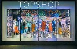 TOPSHOP - Neon Mess Window