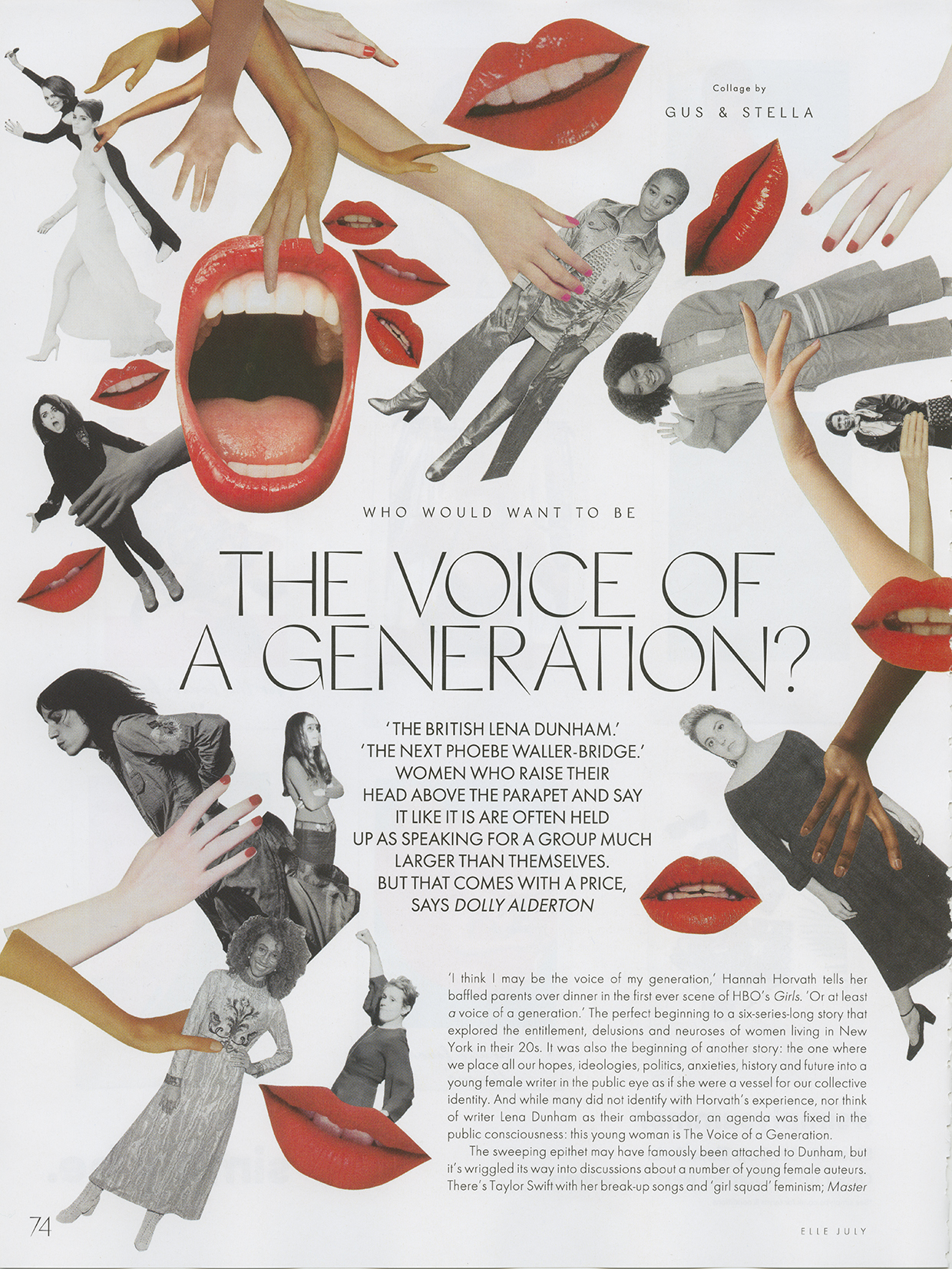 ELLE UK - Voice of a Generation