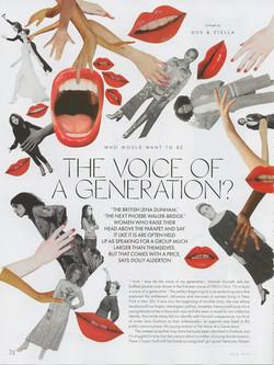 ELLE UK - Voice of a Generation