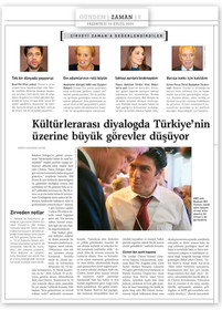 """Bill Clinton: """"Kültürlerarası diyalogda Türkiye'ye büyük görevler düşüyor."""""""
