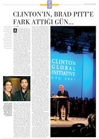 Clinton'ın Brad Pitt'e fark attığı gün...
