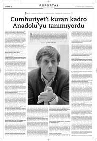 """Röportaj - Erich Jan Zürcher: """"Cumhuriyeti kuran kadro Anadolu'yu tanımıyordu."""""""