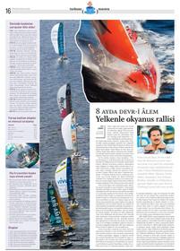 8 ayda devri alem: Volvo Okyanus Rallisi.