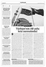 """Yorum röportaj: """"Türkiye'nin AB yolu kriz sarmalında!"""""""