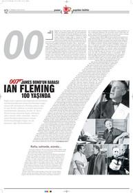 Ian Flemming 100 yaşında.