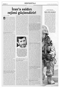 """Yorum röportaj: """"İran'a saldırı rejimi güçlendirir."""""""