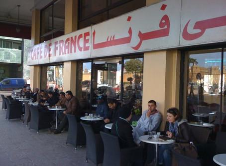 Casablanka cafesinde bir piranha...