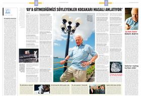 """Röportaj - Edwin Buzz Aldrin: """"Ay'a gitmediğimizi söyleyenler kocakarı masalları anlatıyor."""""""