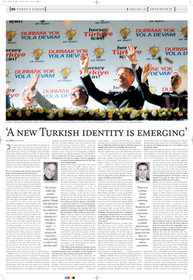 """Interview: """"A new Turkish identity is emerging."""""""