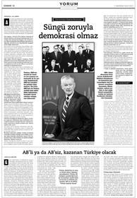"""Röportaj - Brzezinski: """"Süngü zoruyla demokrasi olmaz."""""""