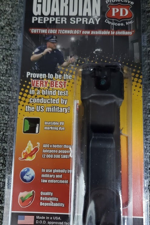 GuardianProtective Devices Pepper Spray