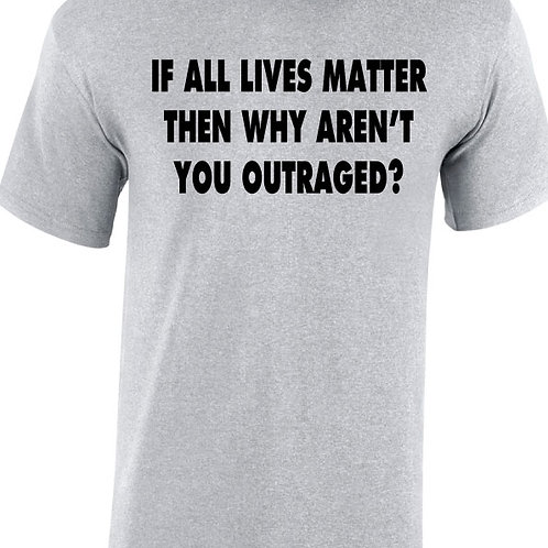 Why Aren't You Outraged