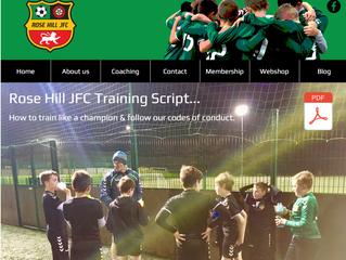 Rose Hill JFC training script 2019