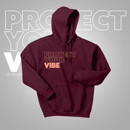Big Font Protect Your Vibe Hoodie