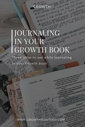 Growth Book Journaling