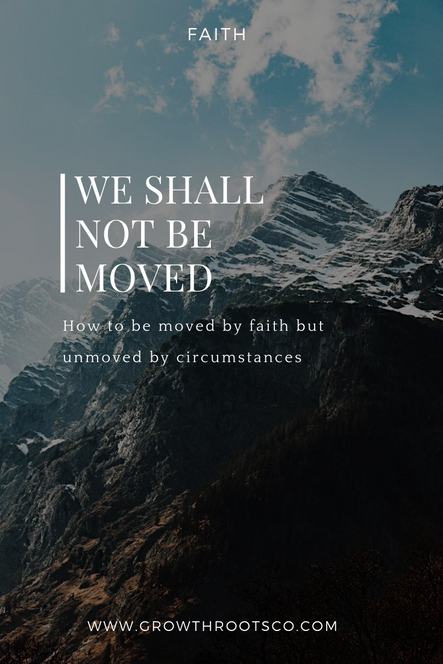 We Shall Not Be Moved