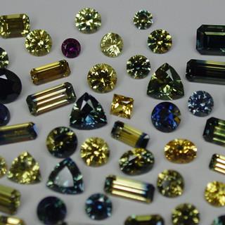 Parti-Colour Sapphires