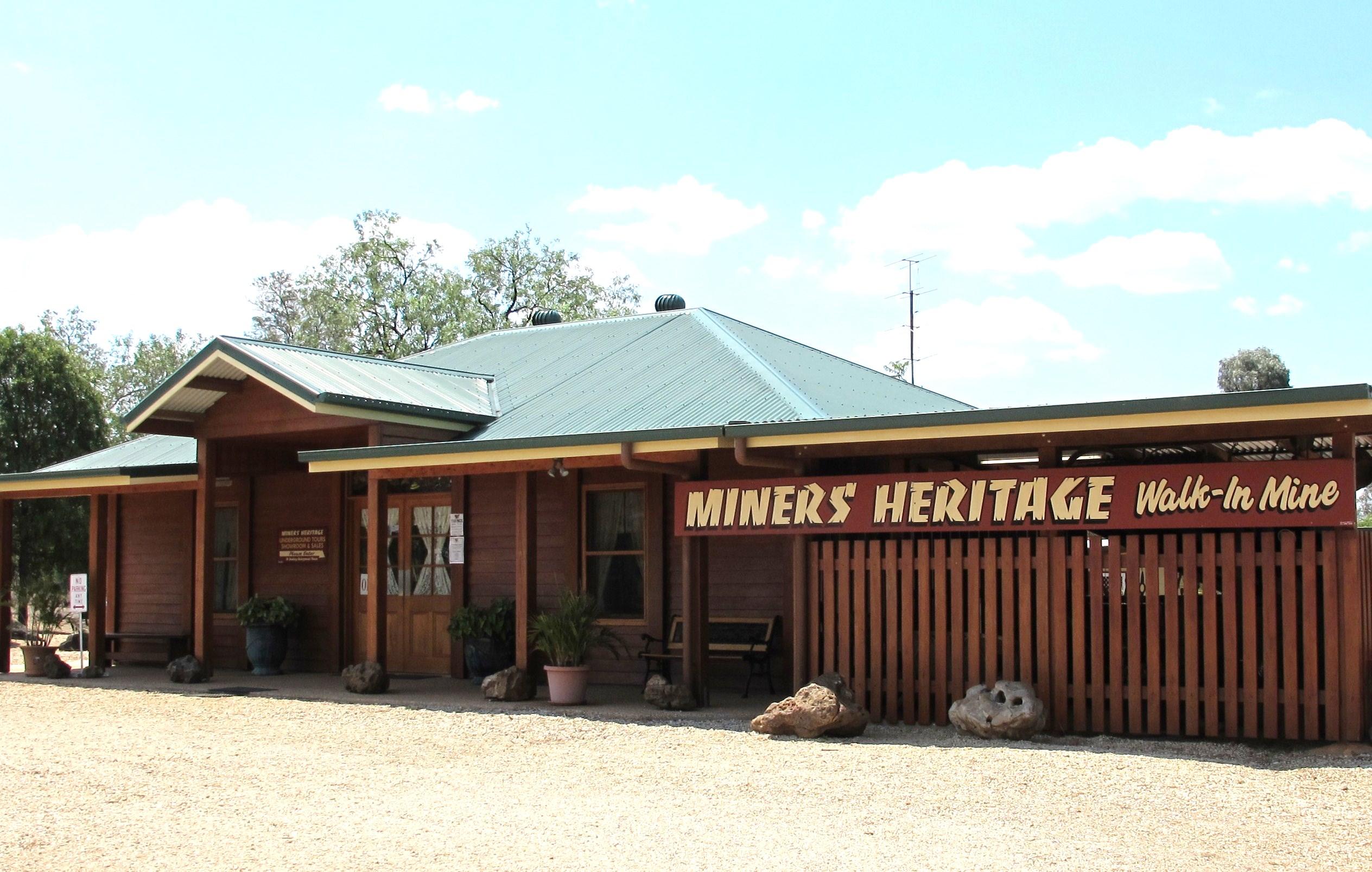 Miners Heritage Shop