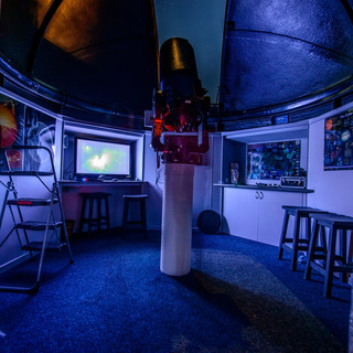 Inside View of the Rubyvale Observatory.