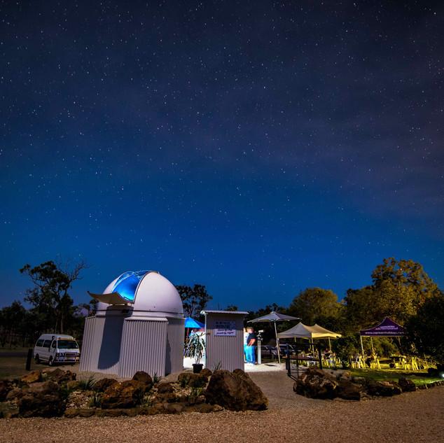 Night Sky Rubyvale Observatory