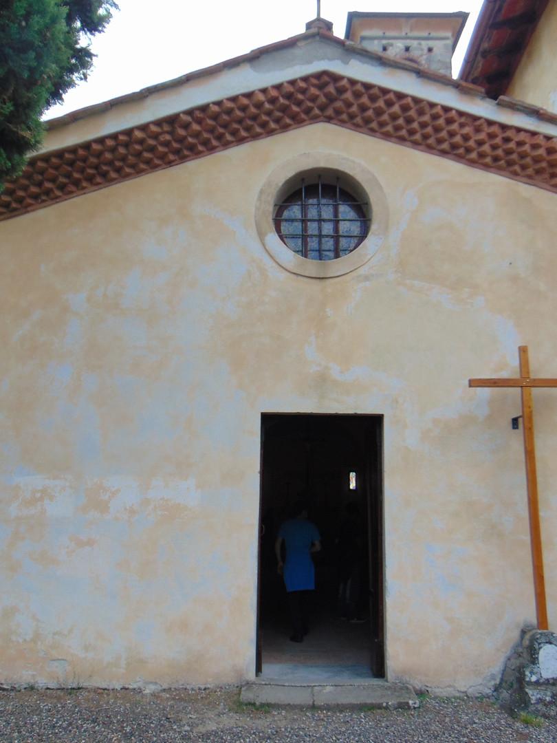 La chiesa di Barbiana