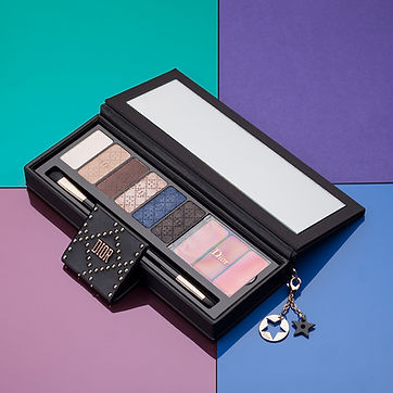 dior eye shadow photography
