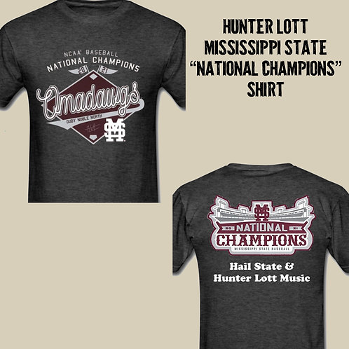 Mississippi State National Champions 2021 T-Shirt