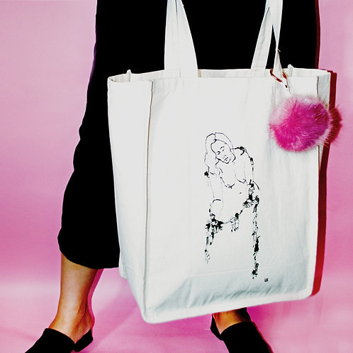 Message to the Patriarchy Tote Bags by Ursula Barton