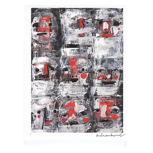 "Many Moods 8.5"" x 11"" Digital Prints by Paulina Archambault"
