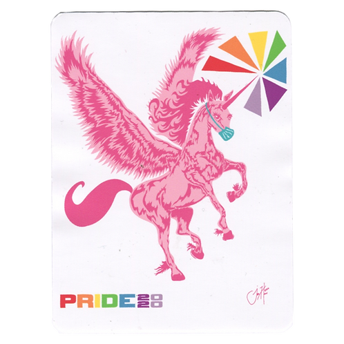 PRIDE 2020 Sticker by Jonathan Hanisits