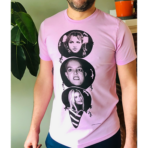 """Pop Star Goes POP!"" Britney Spears Shirt by Jonathan Hanisits"