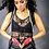Thumbnail: Black Leather Shorts with Suspenders by NEO