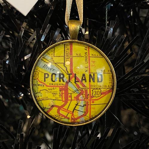 Portland Ornament by Travelust